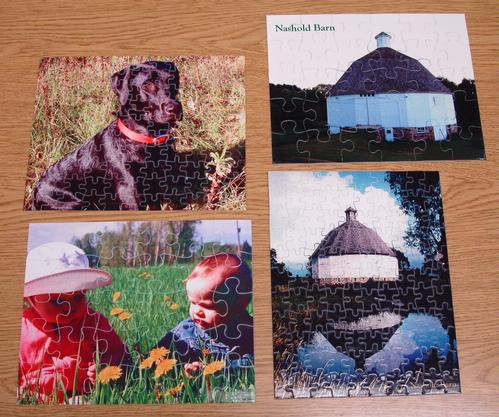 Puzzles - 8 x 10 inches - $7