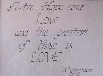 Calligraphy - Janelle N