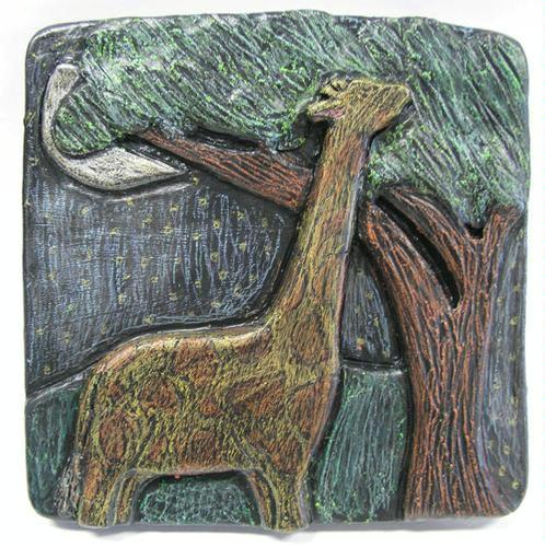 clay relief carving - Aubrey G