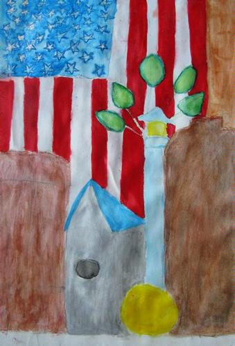 Still Life Watercolor Painting - Megan N
