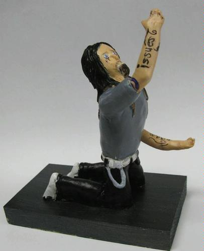 Polymer clay figure - Janelle N