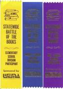 Battle of the Books Ribbons - Middle Level (5) - $1.00